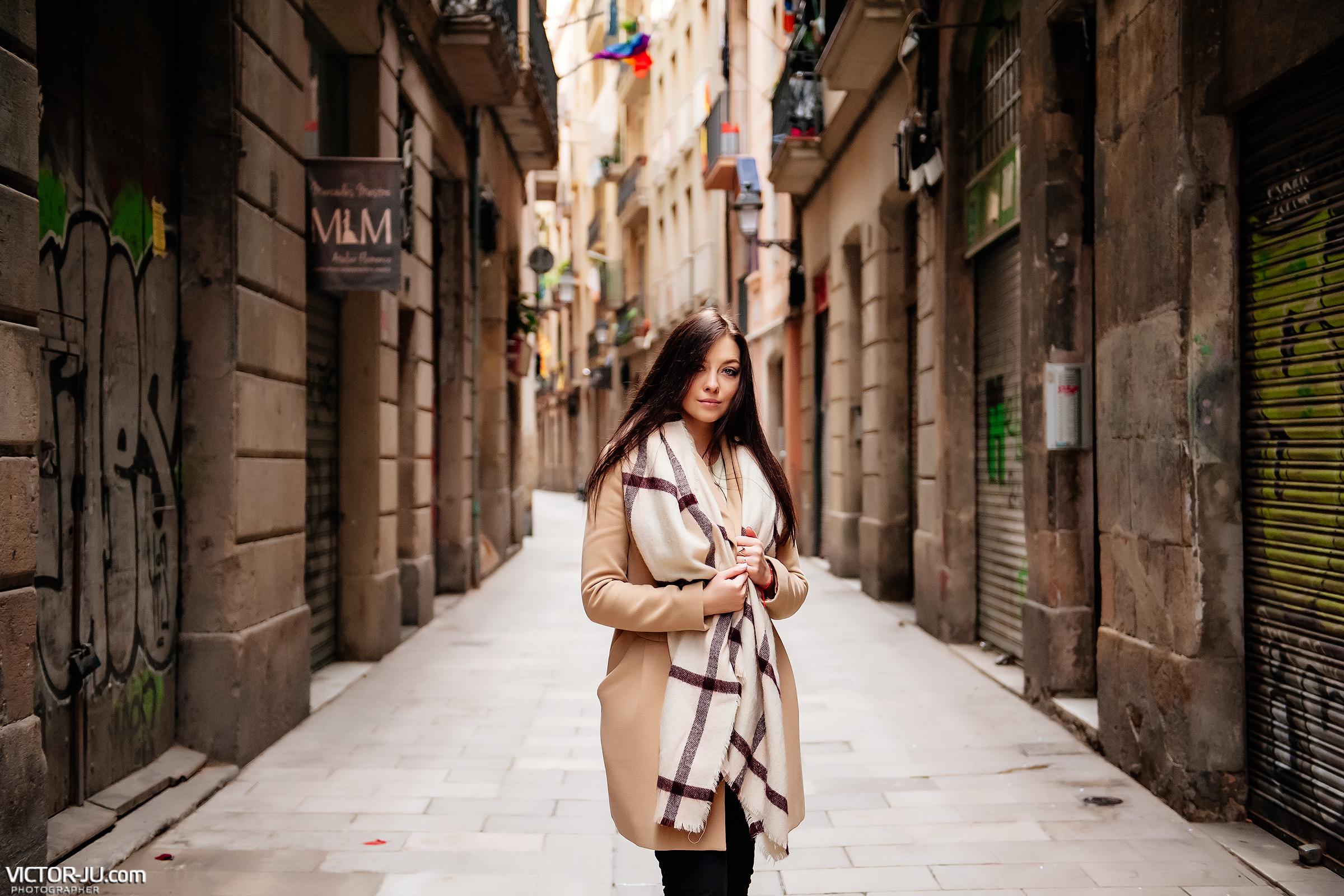 Индивидуальная фотосессяия в Барселоне