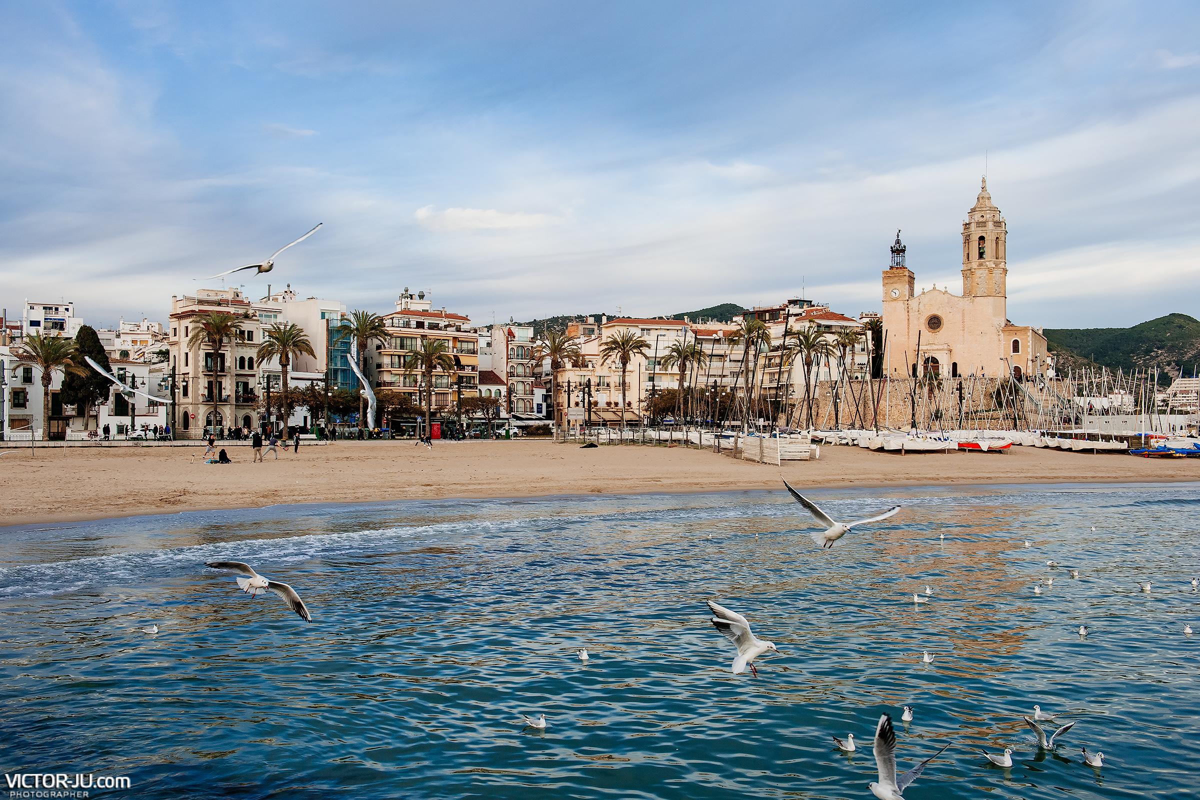 Фотограф в Испании, Сиджес