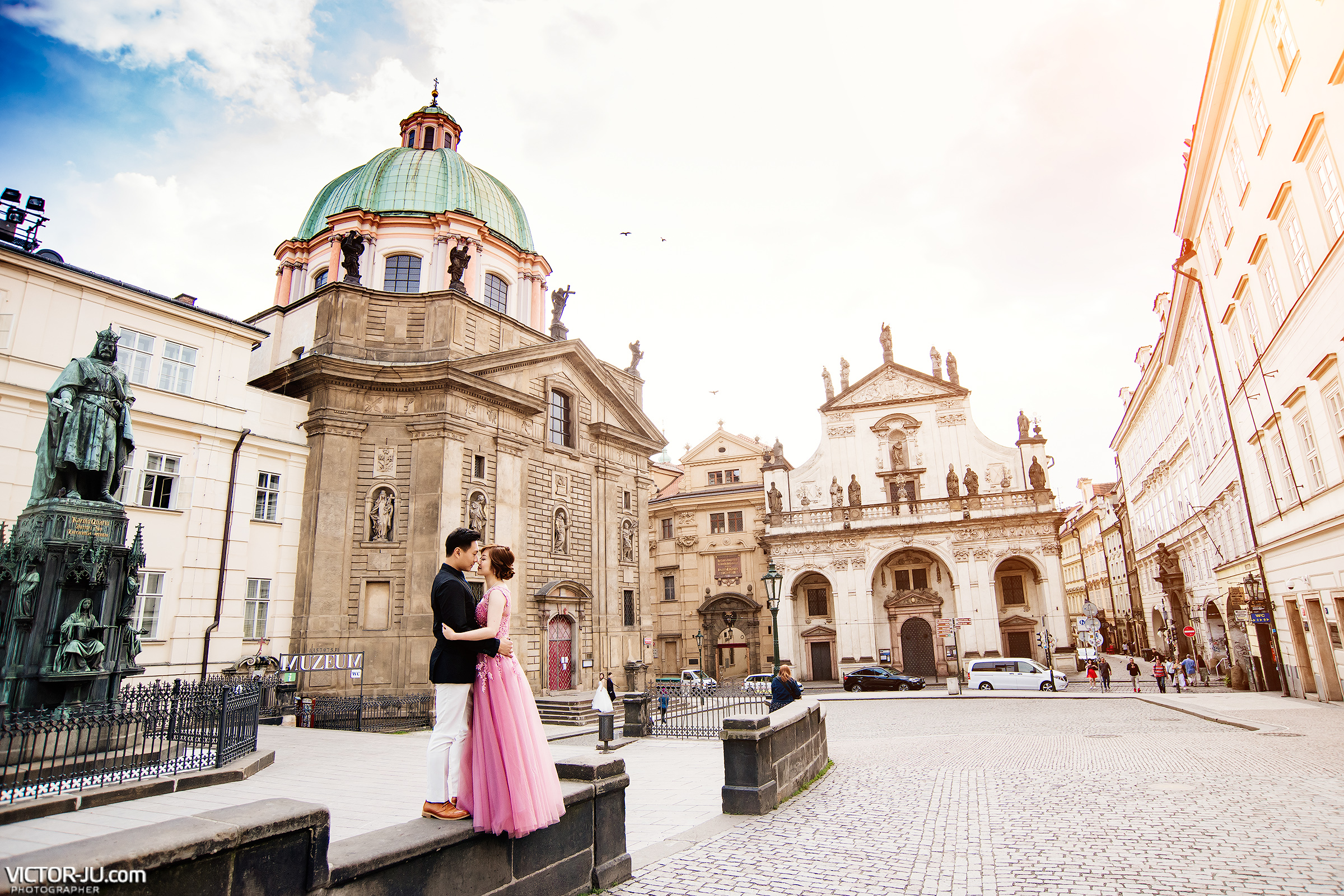 Pre wedding photo shoot Prague