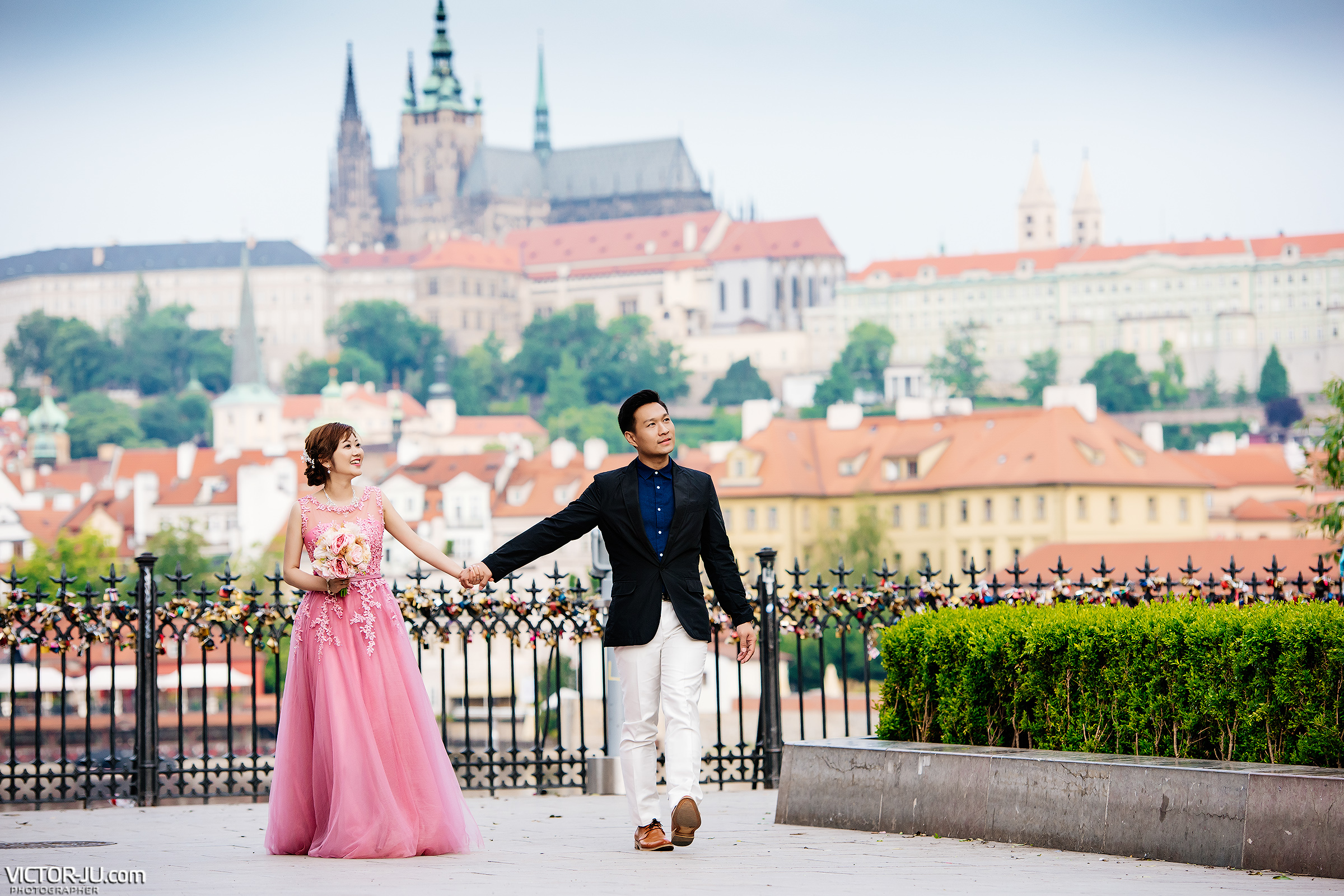 Prague photo shoot