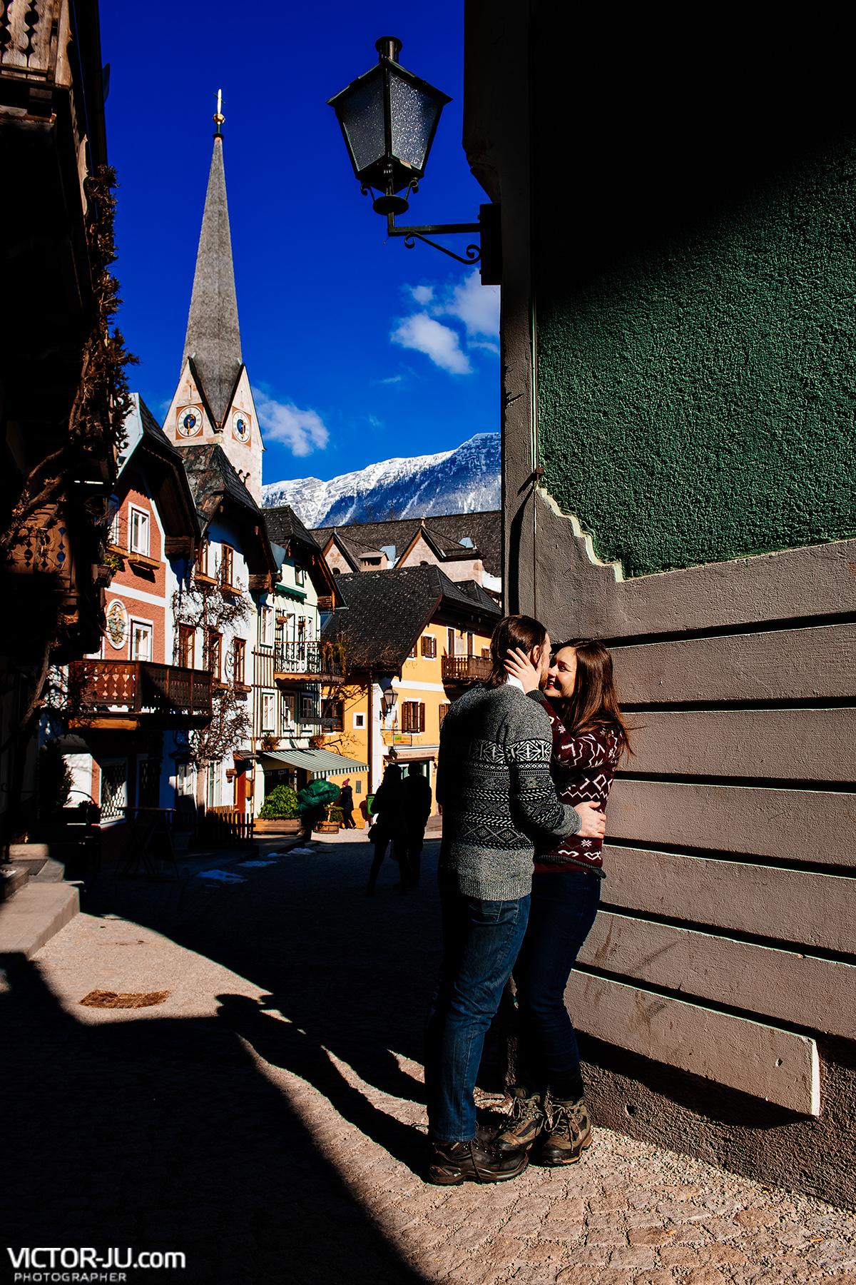 Фотограф в Австрии Гальштат