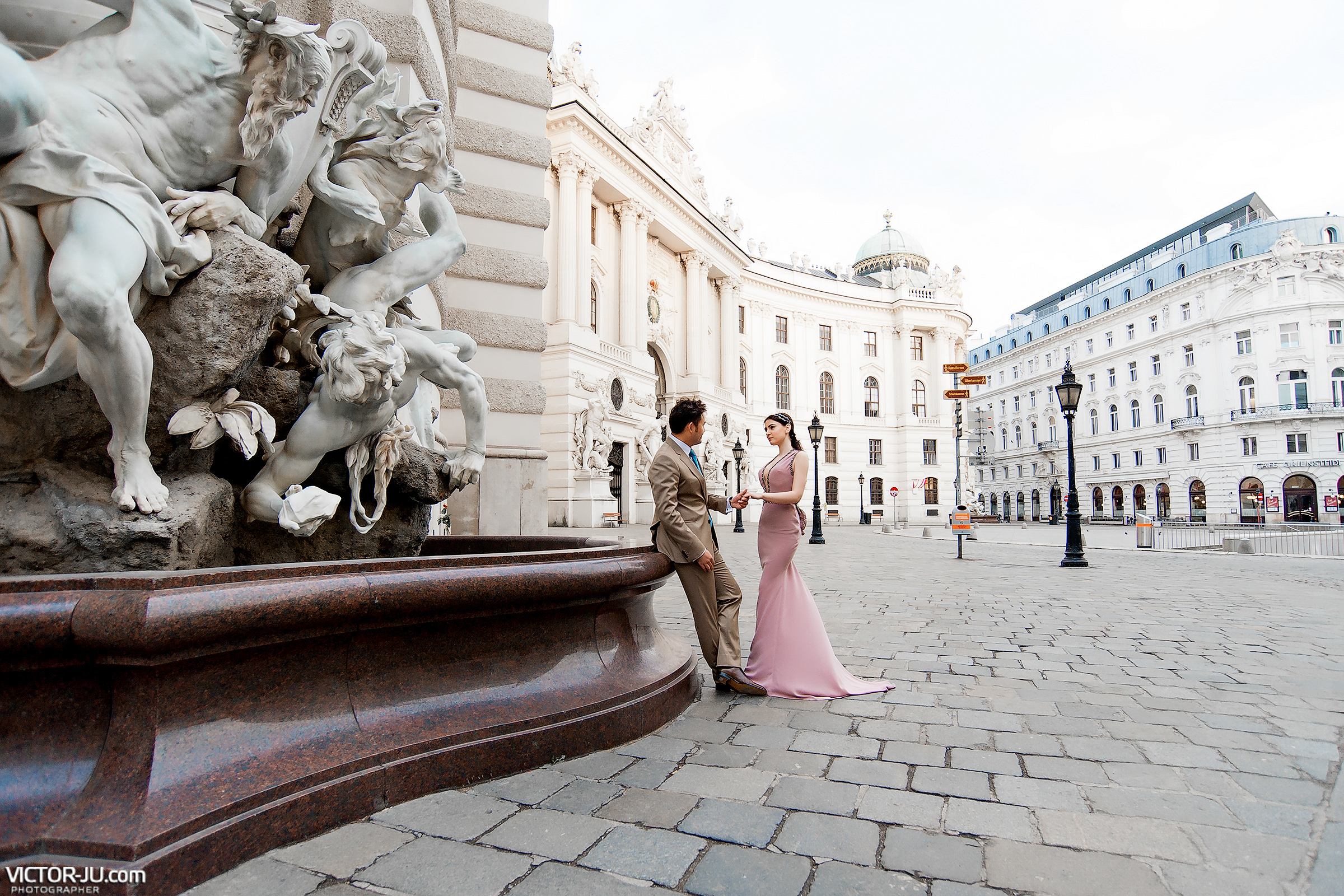 Pre-wedding photo session in Vienna