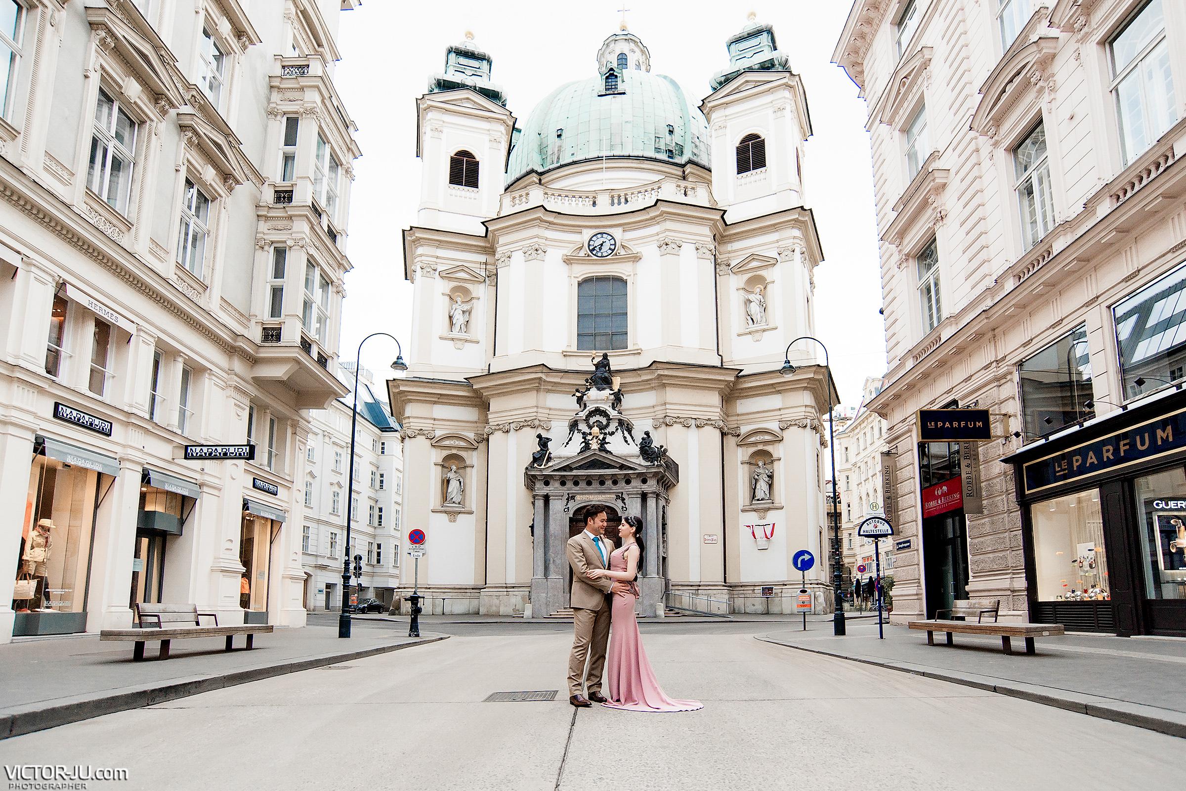 Фотосессия Love story в Вене