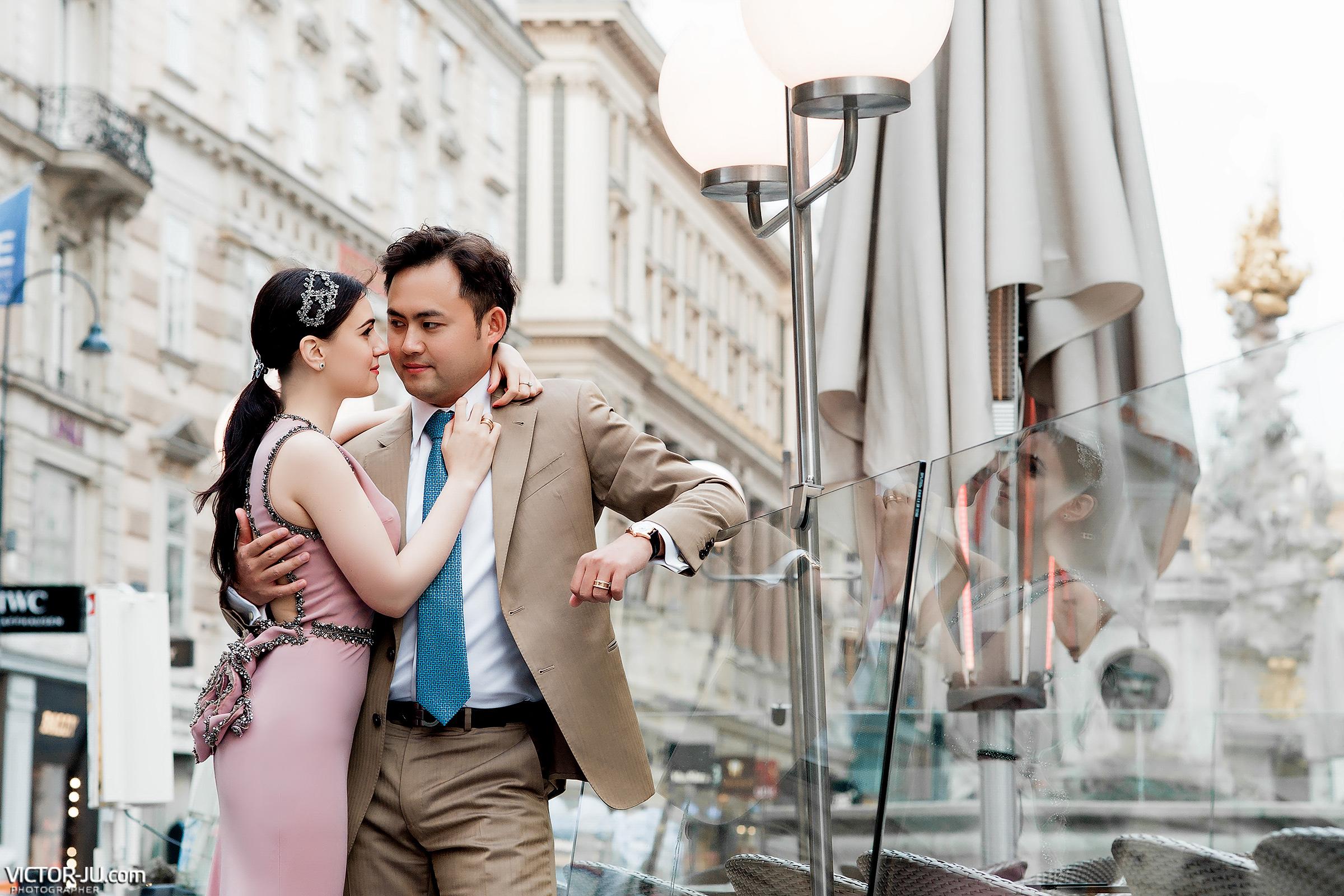 Свадебный фотограф в Вене Австрии