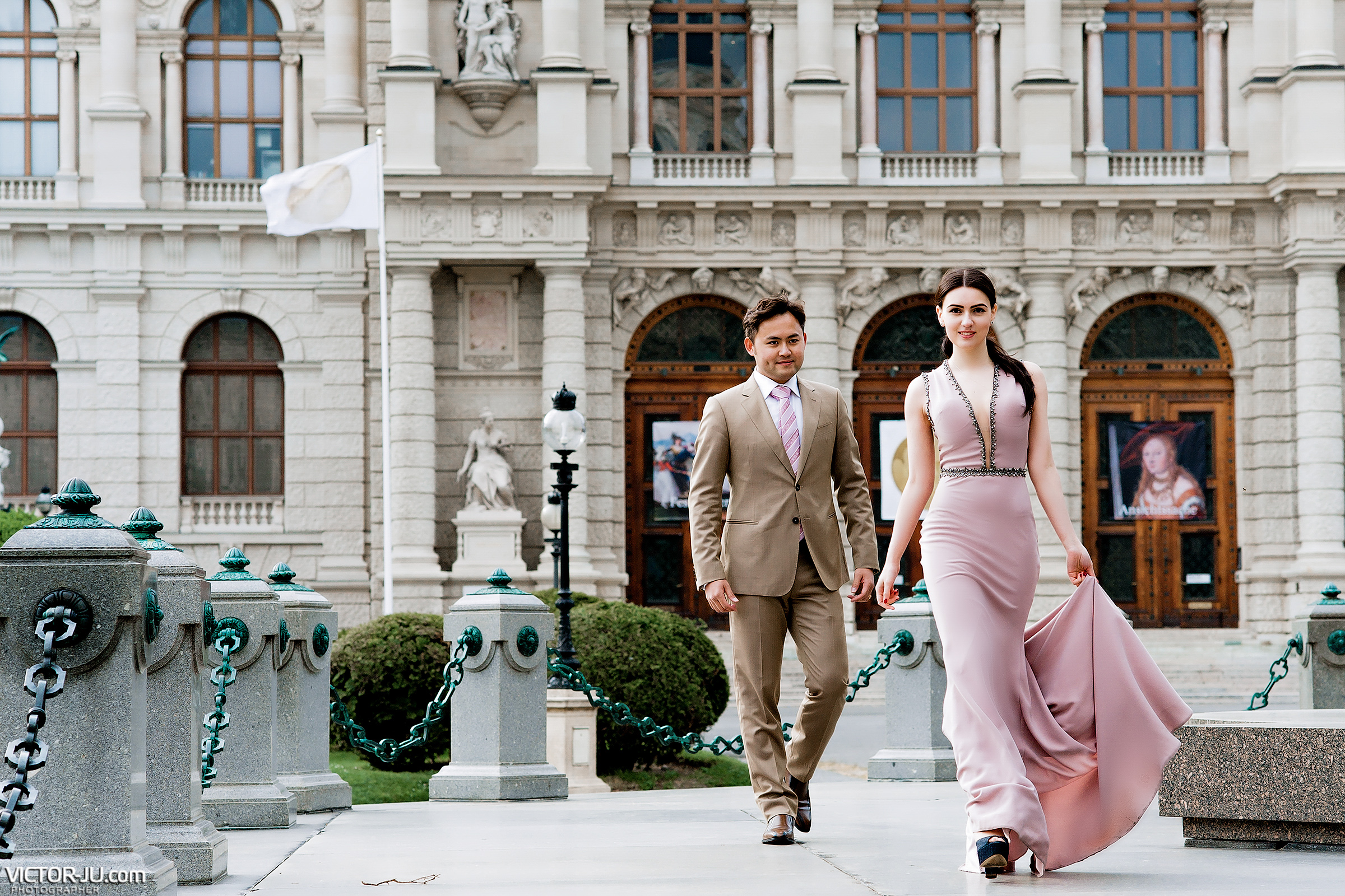 Романтическая фотосессия в Вене