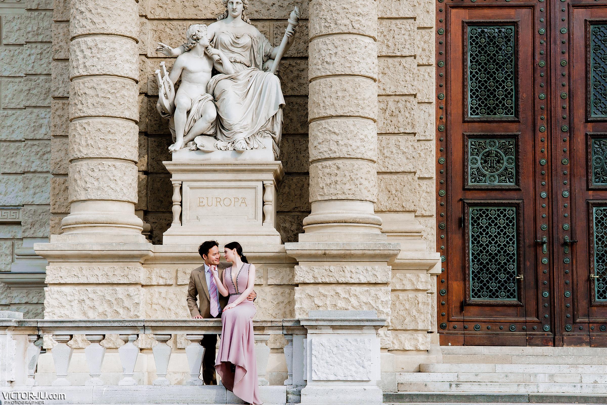Свадебный фотограф в Вене