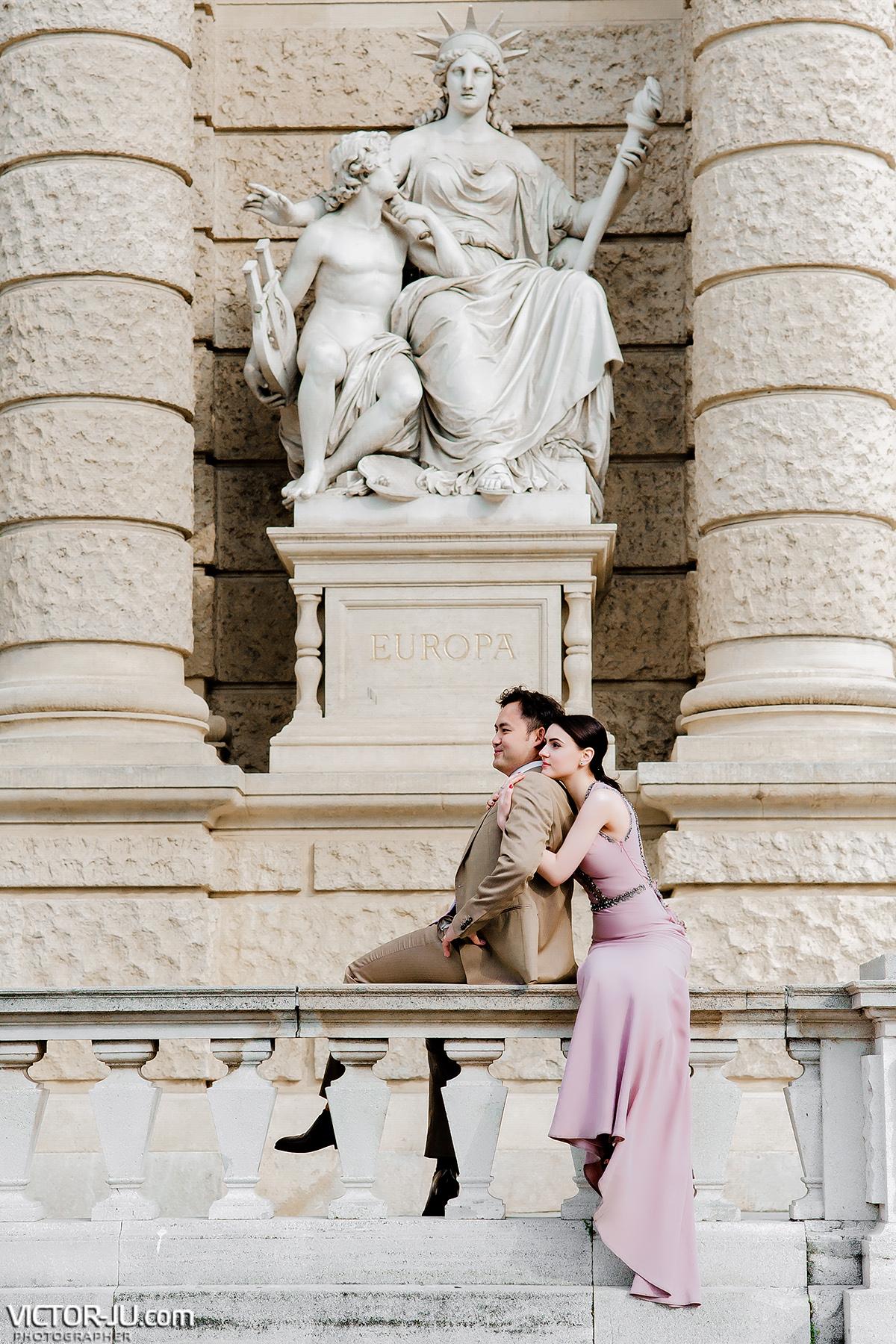 Wedding photo in Wien