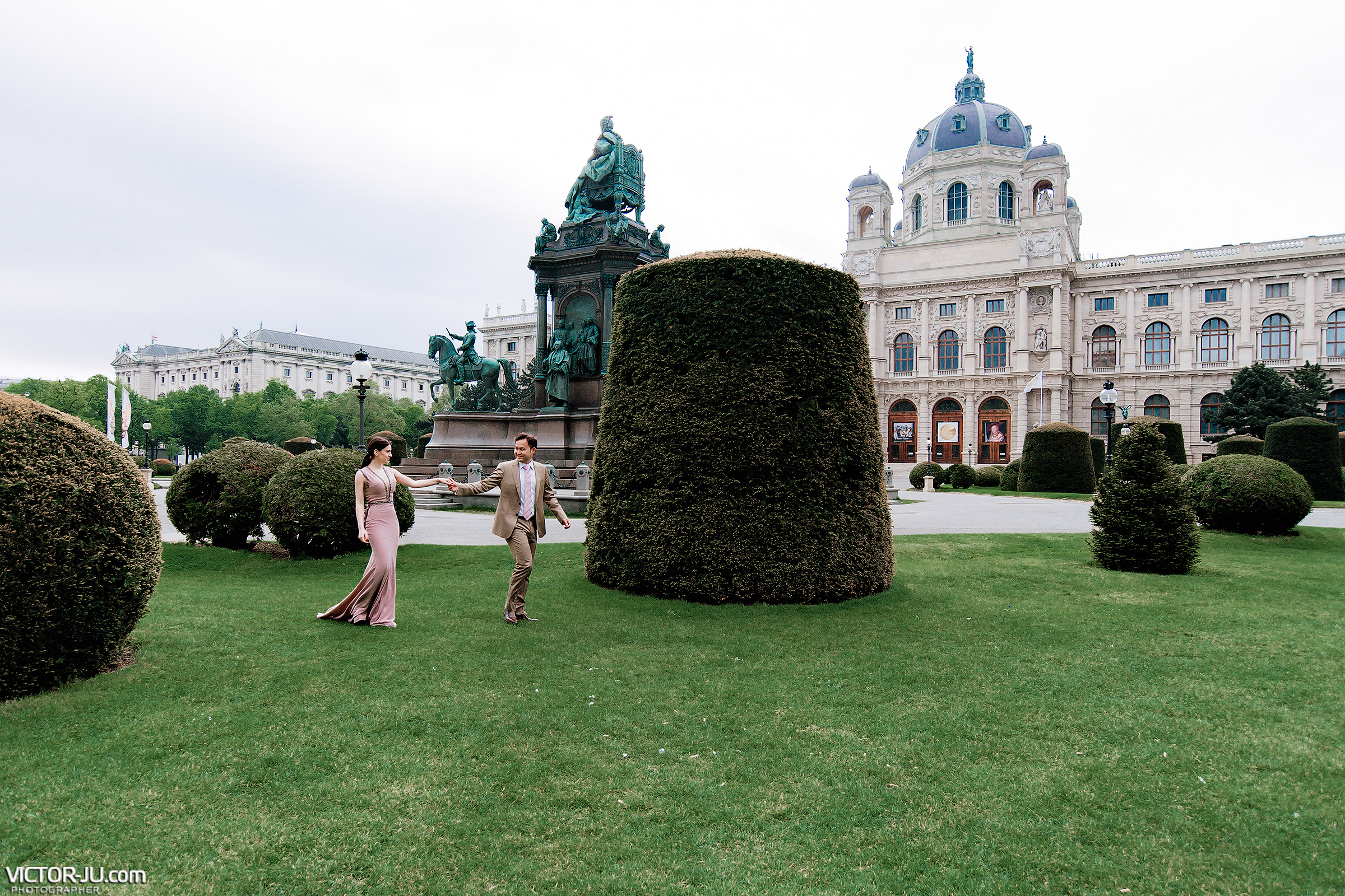 Wedding photo shoot in Wien