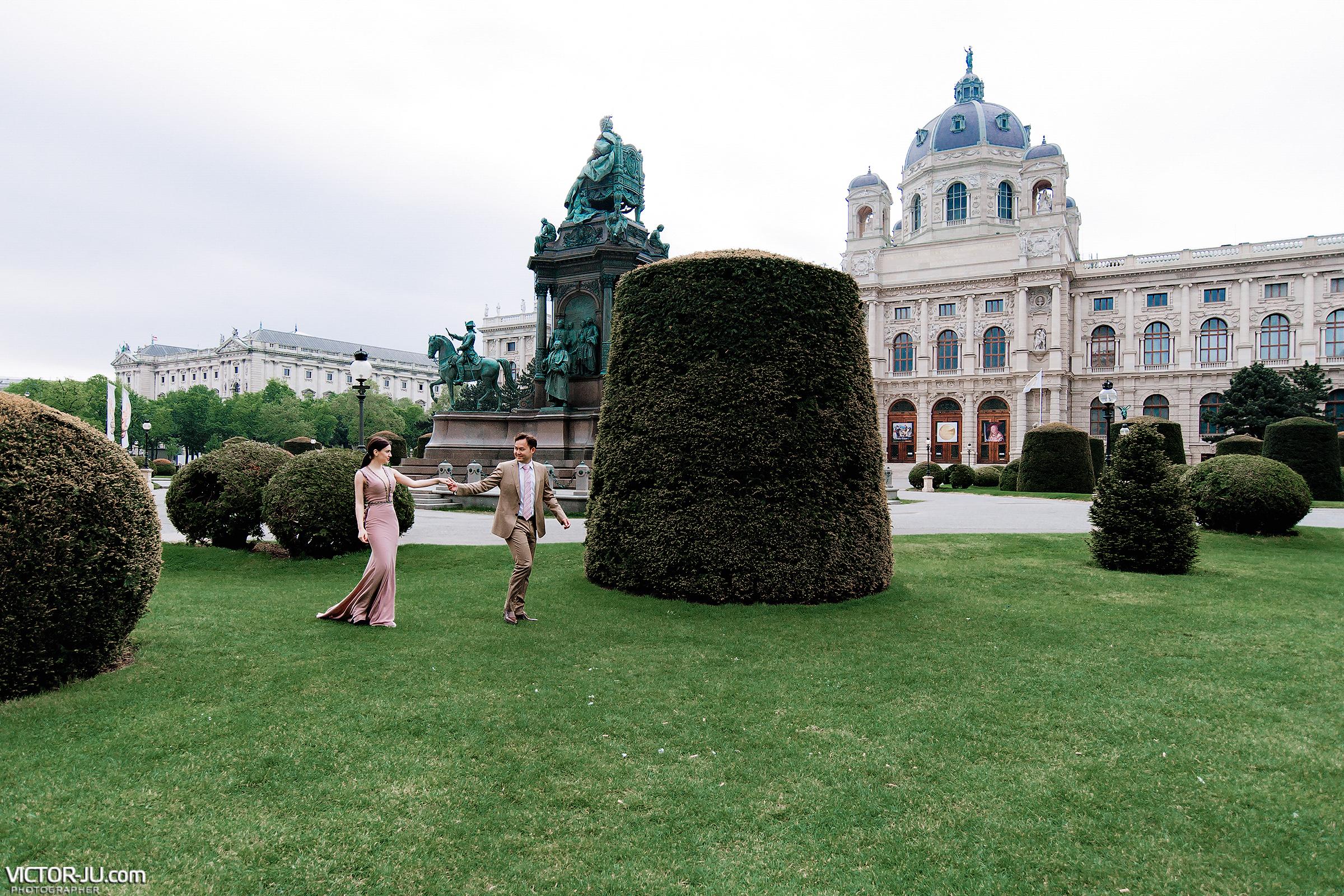 Свадебная фотосессия в Вене