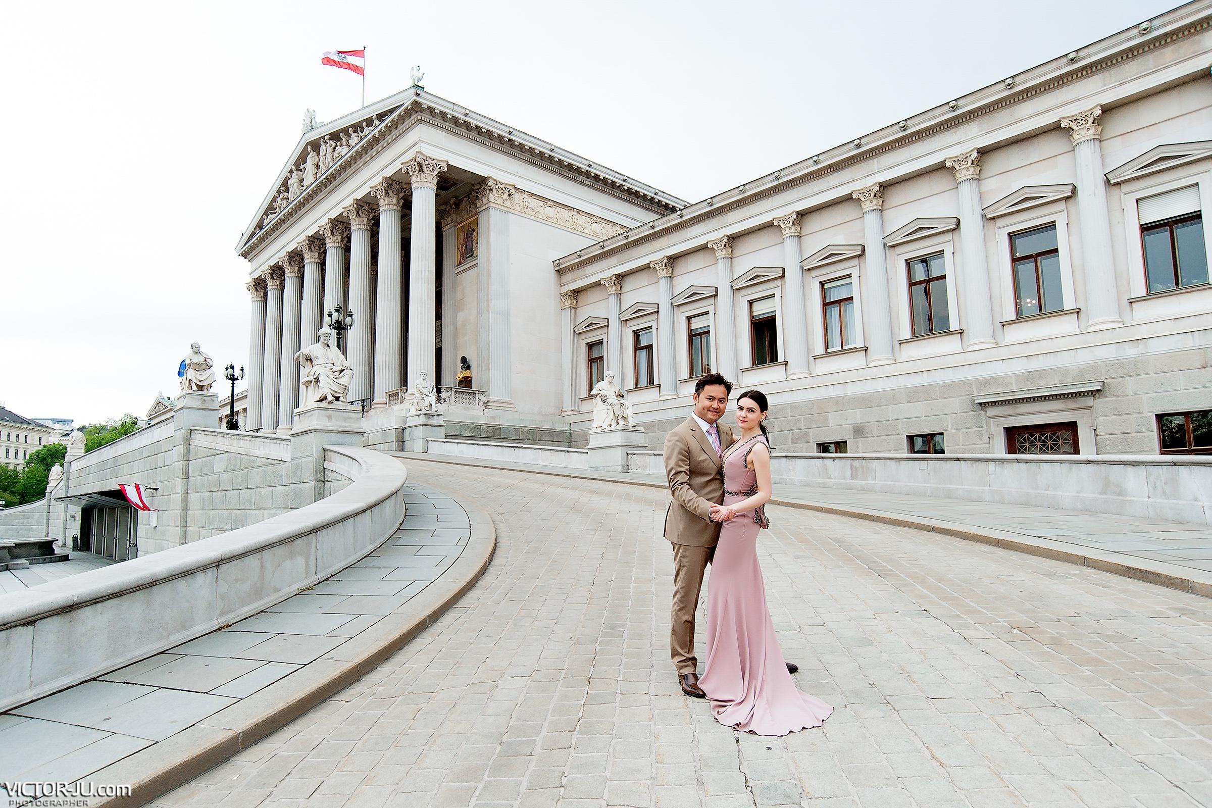 Предсвадебная фотосессия в Вене