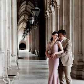 Pre wedding photo shoot in Vienna, Austria