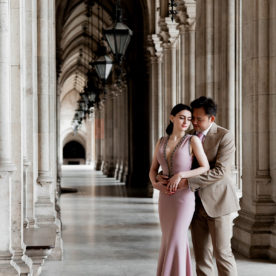 Pre wedding photo shoot in Vienna, Austria