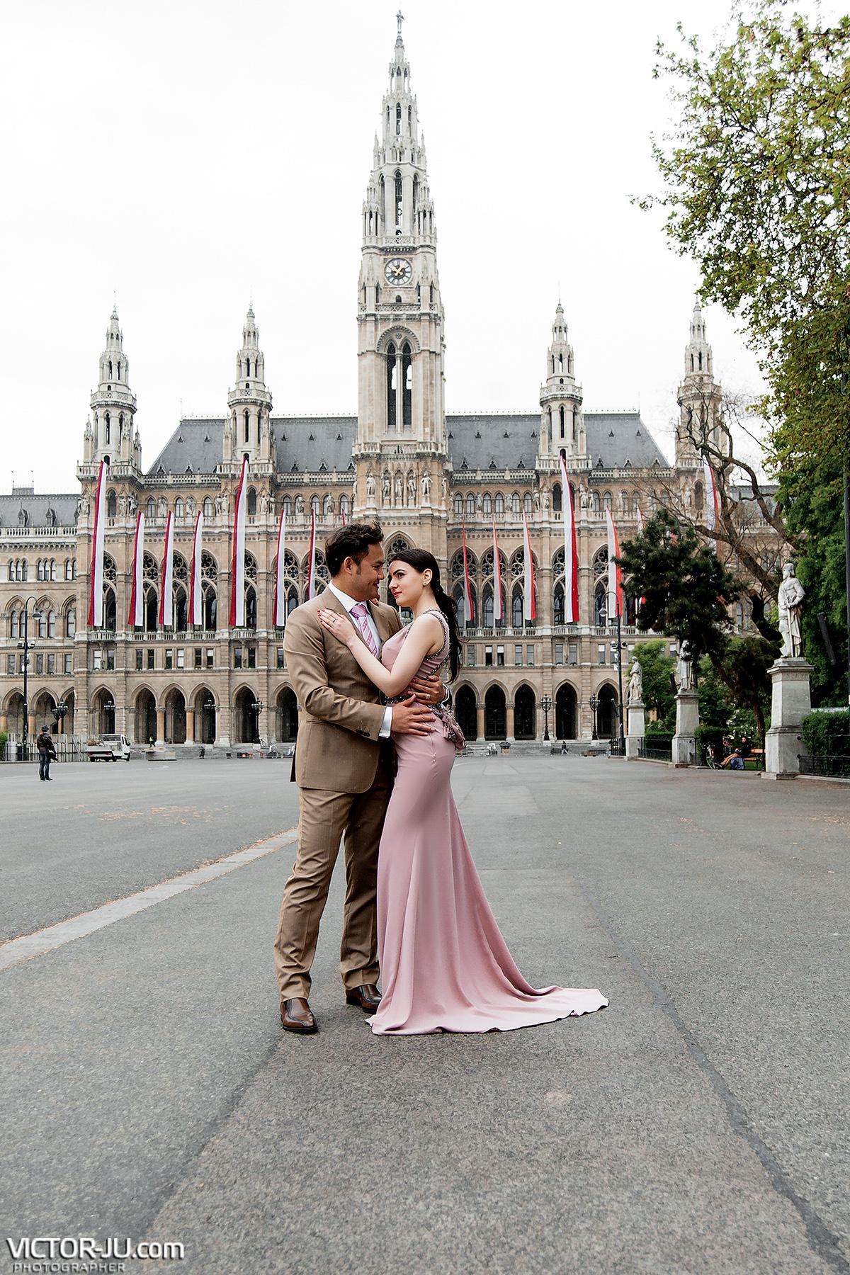 Фотосессия в Вене