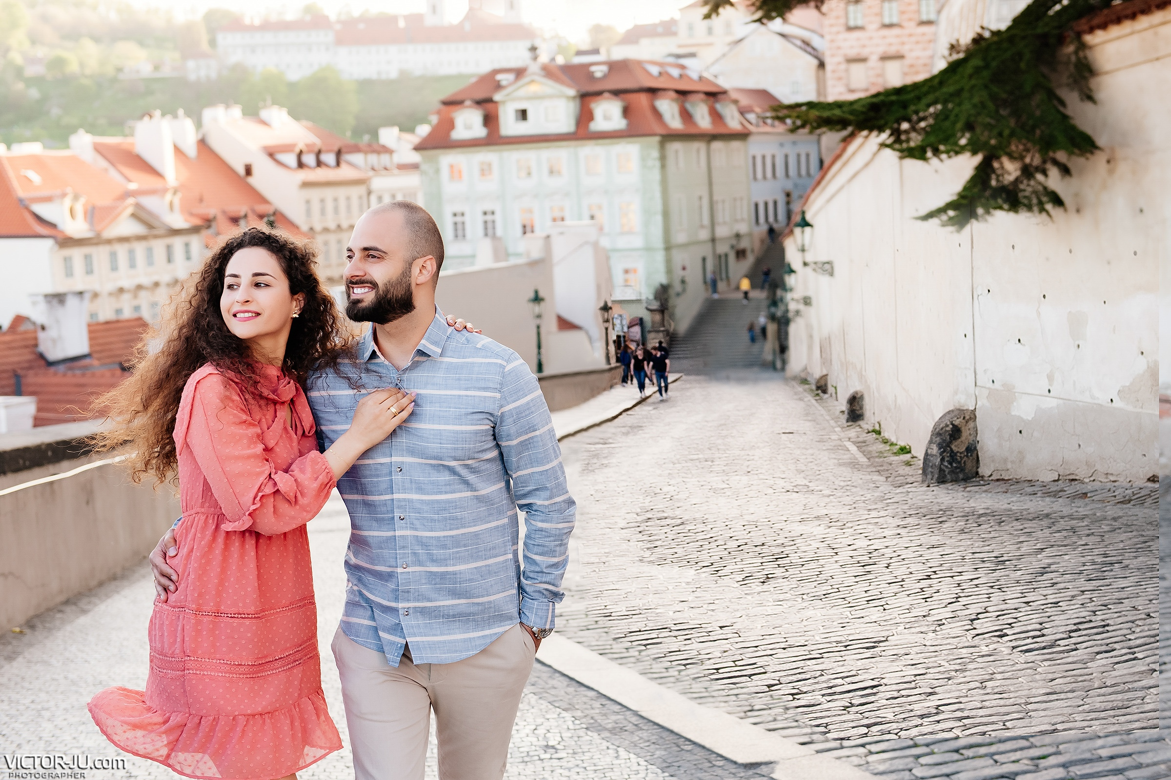 Couple photo shoot in Prague