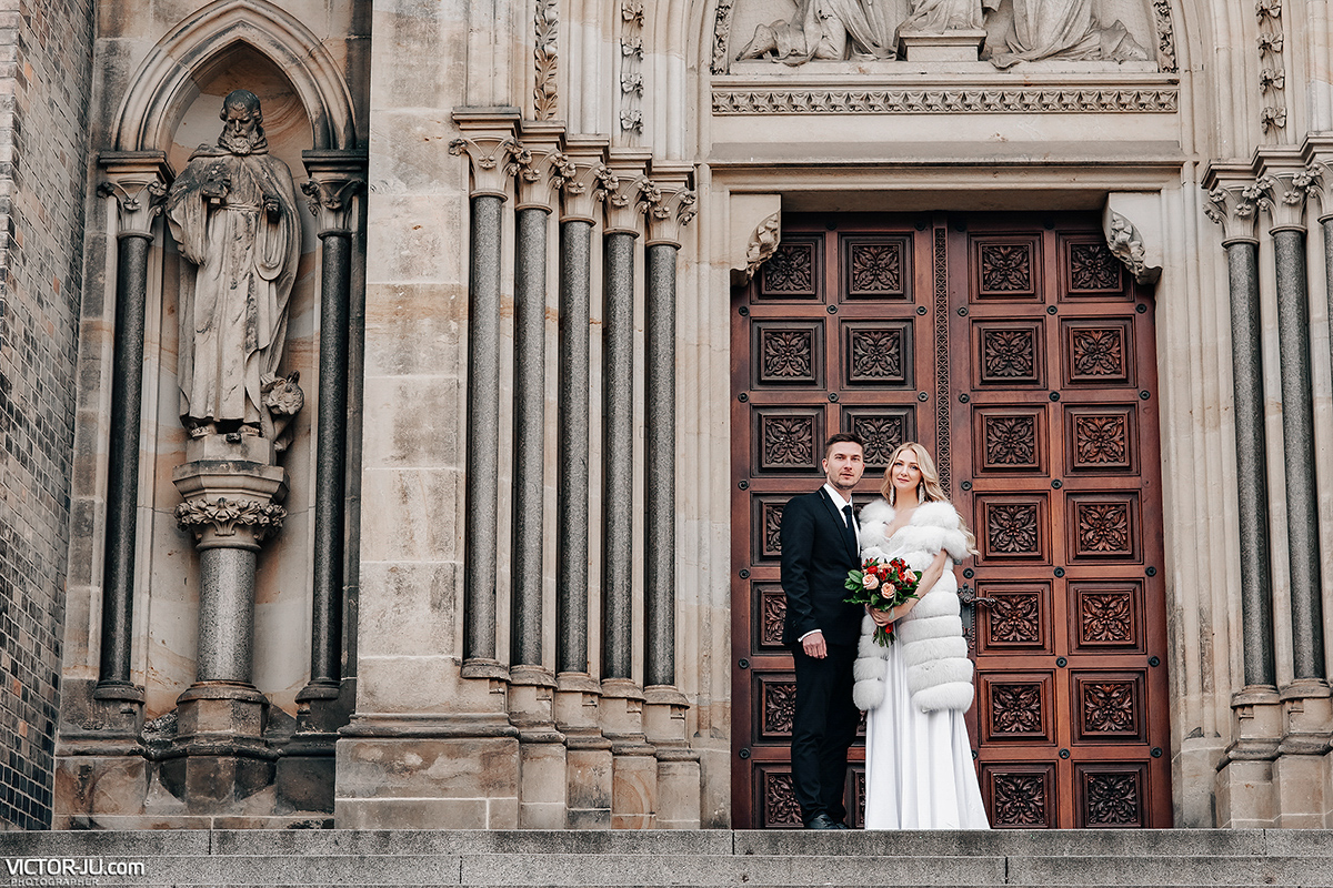 Wedding photo shoot in Czech