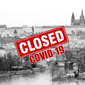 Коронавирус в Чехии — весенняя фото прогулка по опустевшему городу Прага
