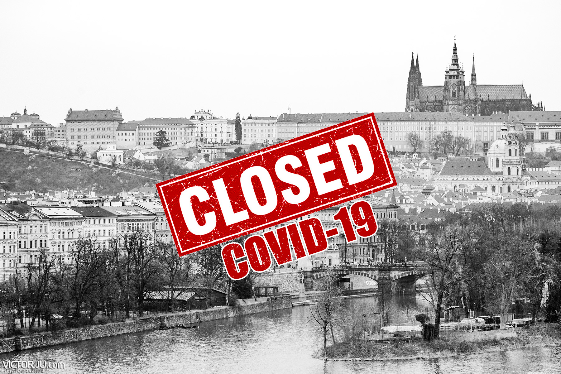 Коронавирус в Чехии Прага