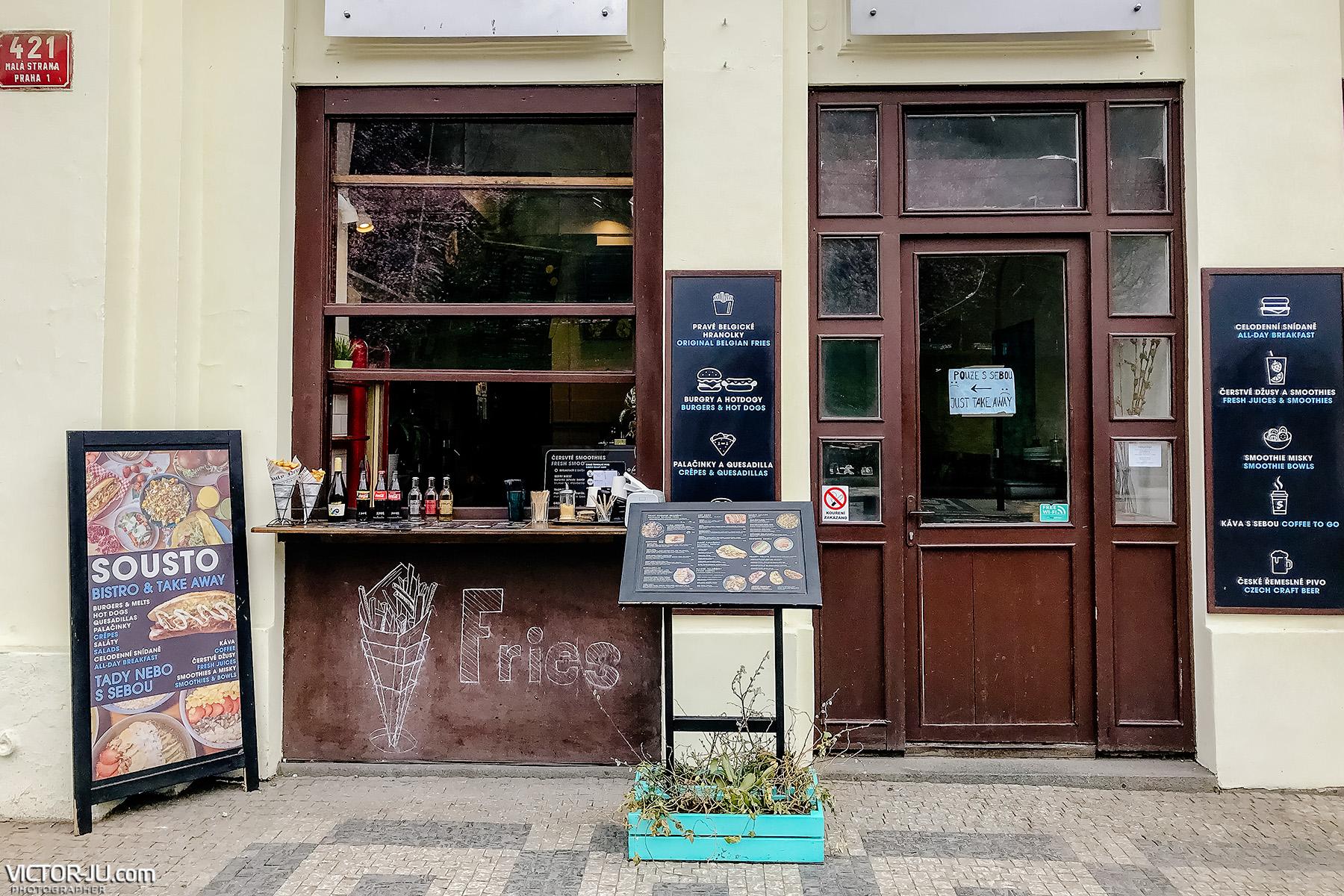 Закрытие ресторанов в Праге из-за коронавируса
