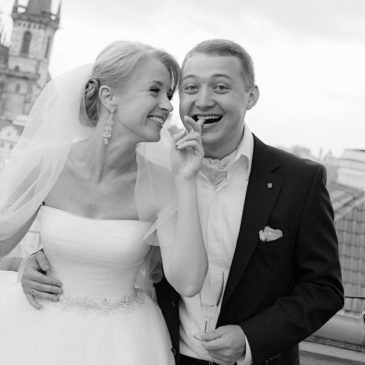 Осенняя свадьба в Праге – Яна и Александр
