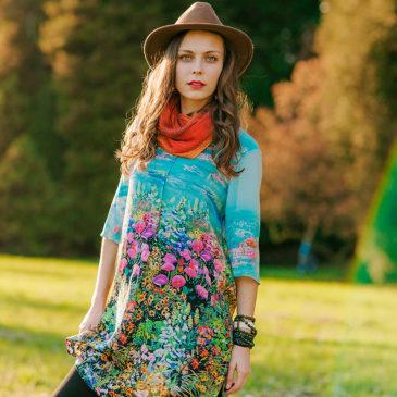 Индивидуальная фотосессия в Праге осенью для Марианны