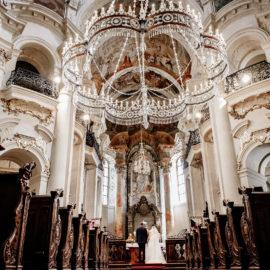 Wedding in Prague St. Nicholas Church